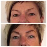Lidstrich oben und unten + Augenbrauen mit Permanent Make up