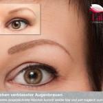 Permanent Make up Augenbrauen und Lidstrich nacharbeit