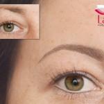 Permanent Make up Augenbrauen und feiner Lidstrich