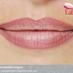 Permanent Make up Lippenkontour mit Schattierung
